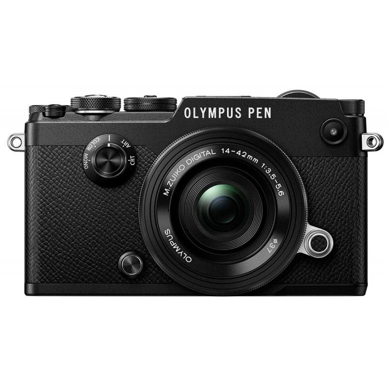 Olympus PEN-F Zwart + 14-42mm II (Ex-Demo)