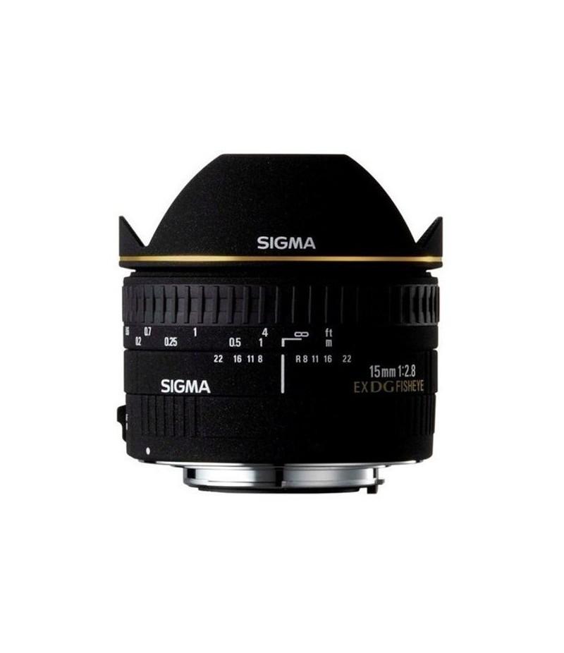 Sigma 15mm F2.8 EX DG Diag. Fisheye Canon