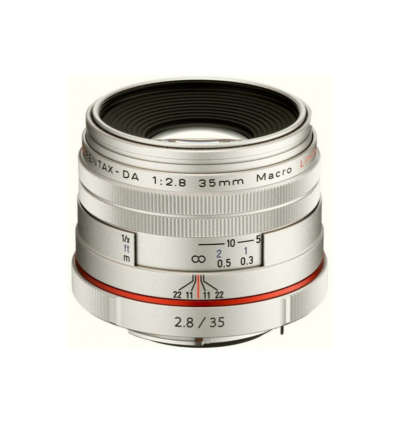 Pentax 35mm Macro F2.8 Limited Silver HD DA