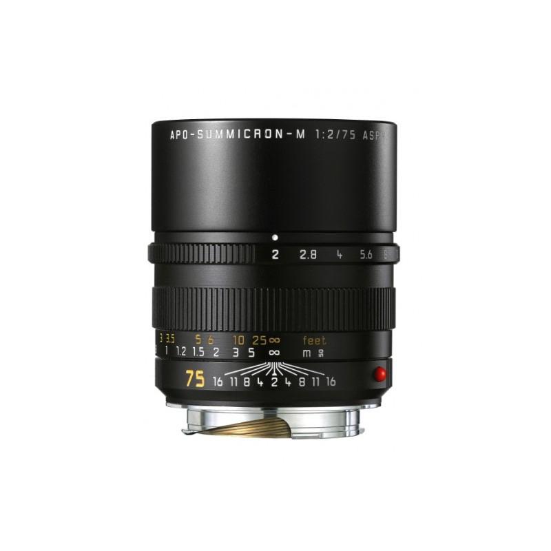 Leica APO-Summicron-M 2.0/75mm Asph. Black