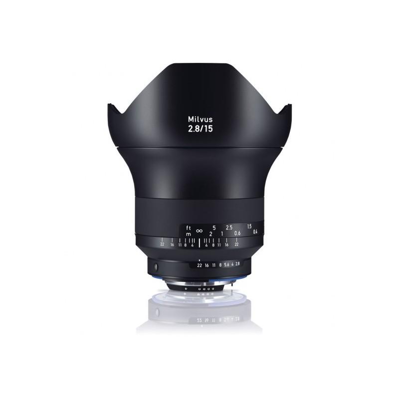 Zeiss Milvus 15mm F2.8 ZF-2-Mount