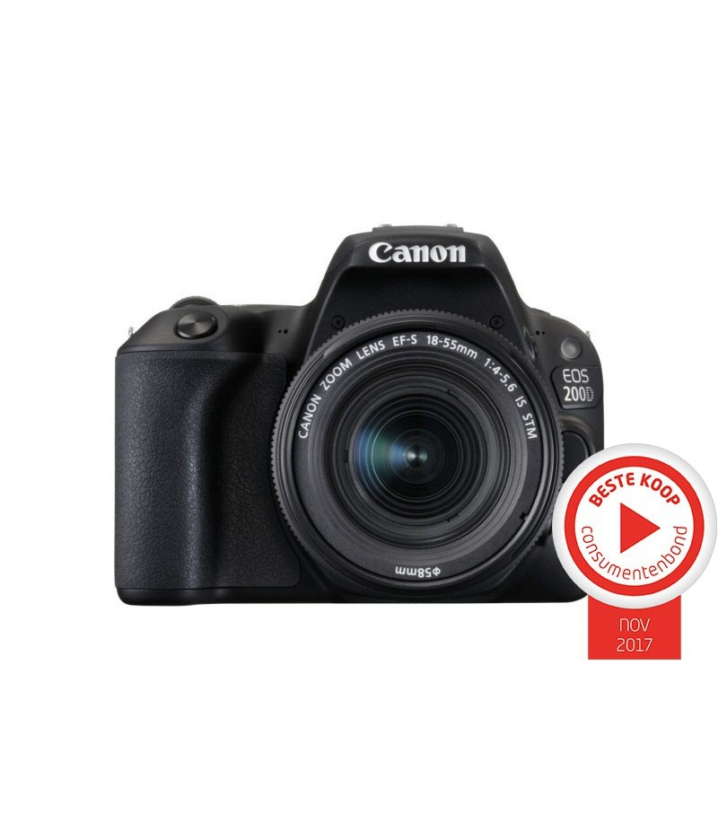 Canon EOS 200D Body + 18-55mm F4-5.6 IS STM