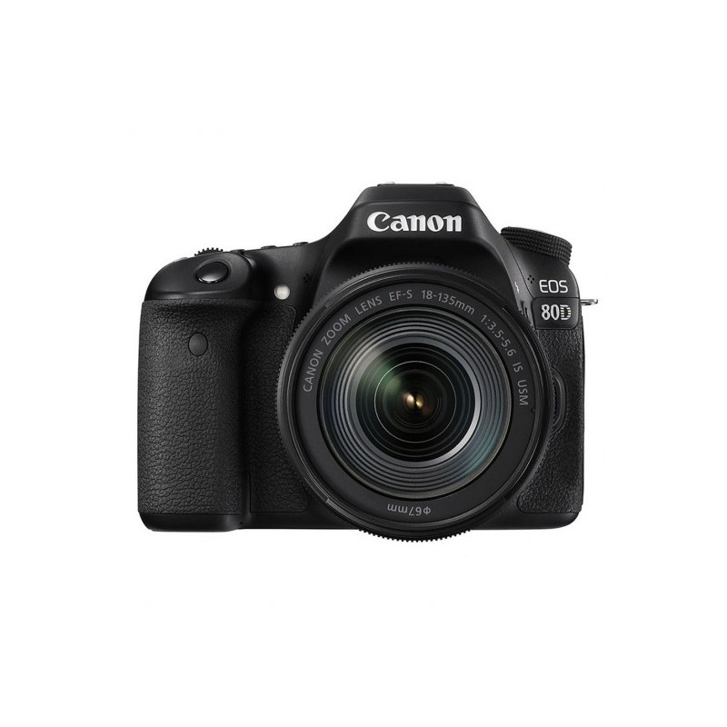 Canon EOS 80D + EF-S 18-135mm IS USM Bulk