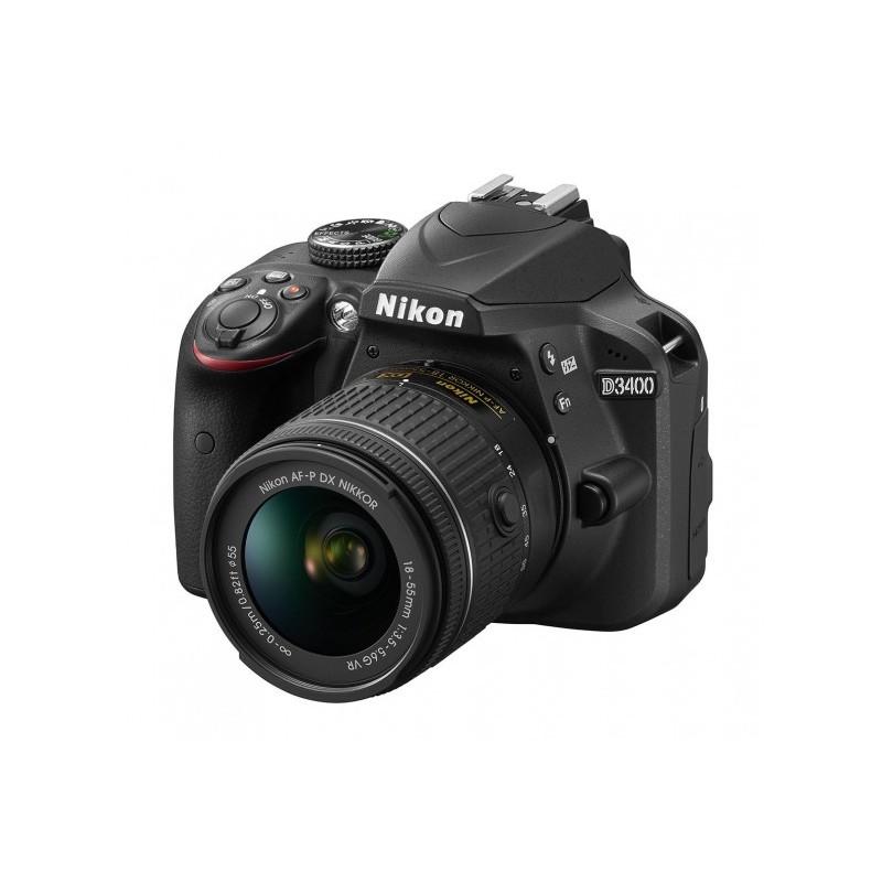 Nikon D3400 Body + AF-P 18-55mm VR
