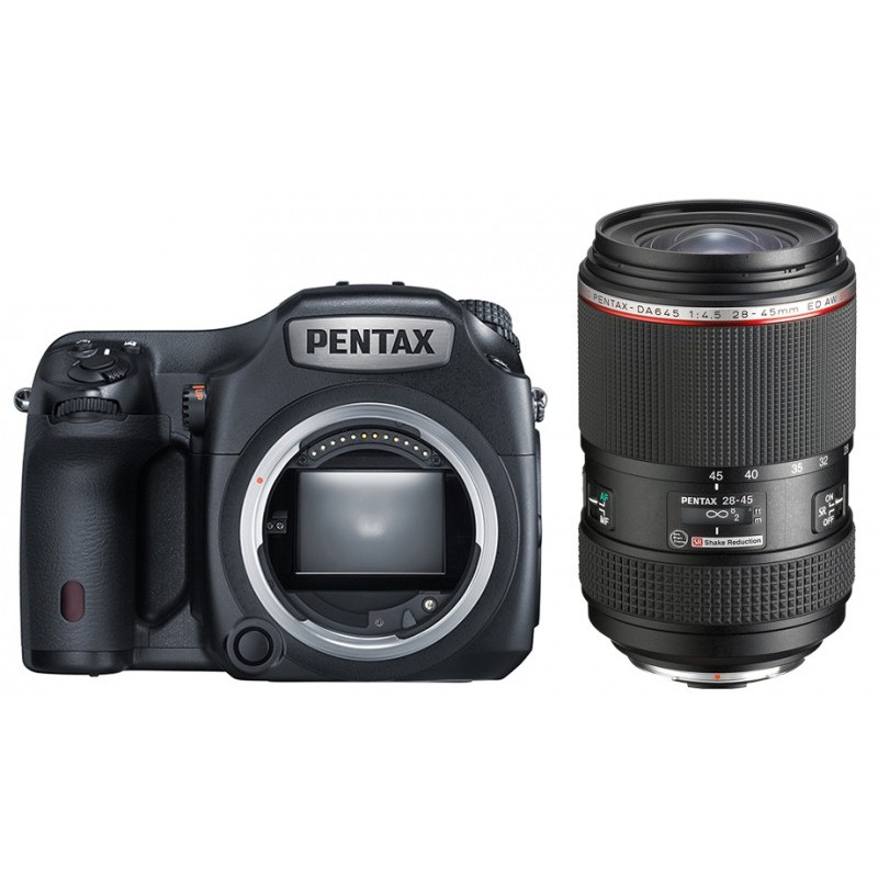 Pentax 645Z + DA 28-45mm F4.5 HD ED AW