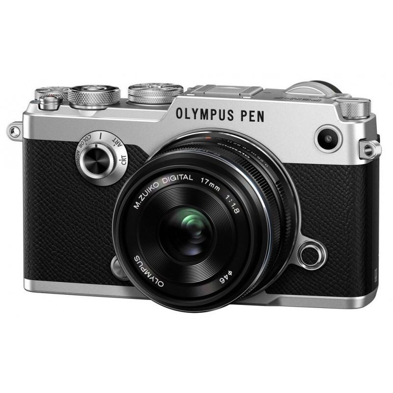 Olympus PEN-F Silver + 17mm