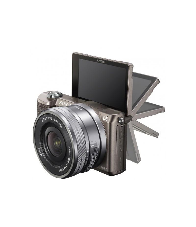 Sony Alpha 5100 + 16-50mm Brown
