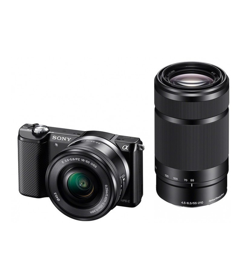 Sony Alpha A5000 + E 16-50mm + E 55-210mm