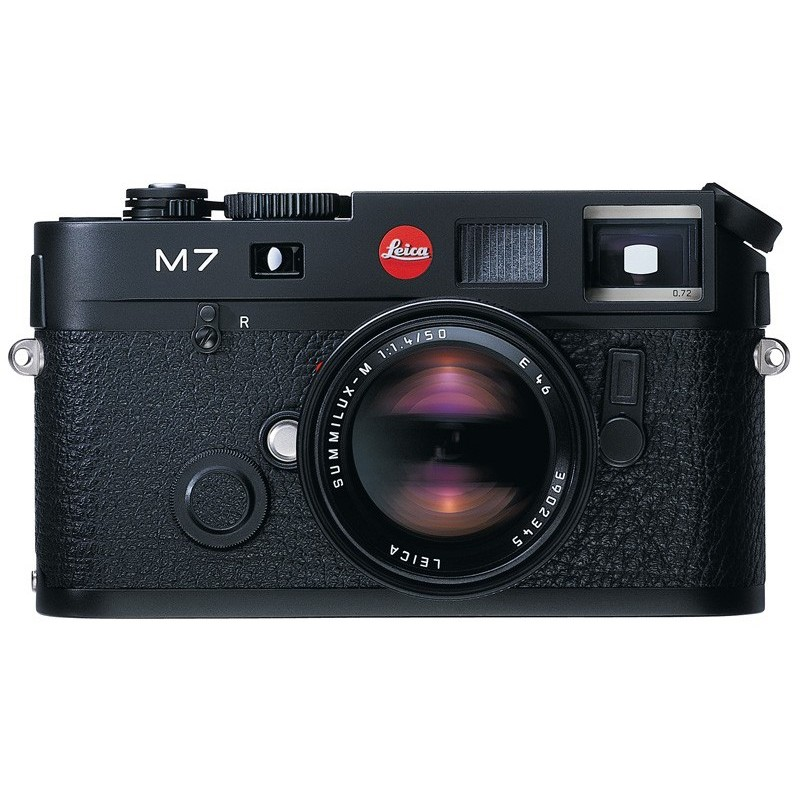 Leica M7 0,72x Black Chrome Finish